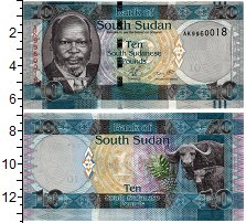 Изображение Банкноты Судан 10 фунтов 0  UNC