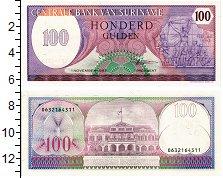 Изображение Банкноты Суринам 100 гульденов 1996  UNC