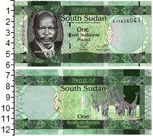 Изображение Банкноты Судан 1 фунт 0  UNC