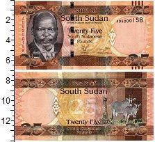 Изображение Банкноты Судан 25 фунтов 0  UNC