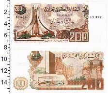 Изображение Банкноты Алжир 200 динар 1983  UNC Современный монумент