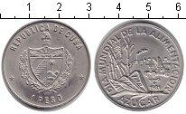 Изображение Монеты Куба 1 песо 1981 Медно-никель Proof- Сахарный тростник