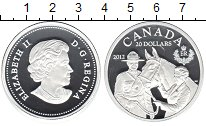 Изображение Монеты Северная Америка Канада 20 долларов 2012 Серебро Proof-