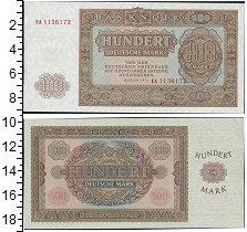 Изображение Банкноты ГДР 100 марок 1955  UNC
