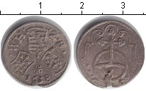 Изображение Монеты Европа Австрия 3 крейцера 1658 Серебро