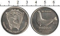 Изображение Мелочь Антарктика - Французские территории 50 франков 2013 Медно-никель UNC-