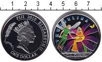 Изображение Монеты Австралия и Океания Фиджи 1 доллар 2010 Серебро Proof