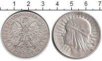 Изображение Монеты Польша 10 злотых 1932 Серебро XF Королева Ядвига. Гер