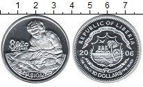 Изображение Монеты Африка Либерия 10 долларов 2006 Серебро Proof-
