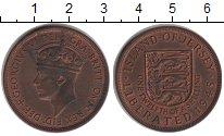 Изображение Монеты Великобритания Остров Джерси 1/12 шиллинга 1945 Медь XF