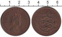 Изображение Монеты Великобритания Остров Джерси 1/12 шиллинга 1964 Медь XF