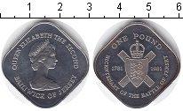 Изображение Монеты Остров Джерси 1 фунт 1981 Медно-никель XF