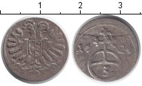 Изображение Монеты Европа Германия 3 крейцера 1624 Серебро VF