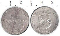 Изображение Монеты Африка Эритрея 2 лиры 1890 Серебро XF