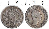 Изображение Монеты Италия Лукка 2 лиры 1837 Серебро VF