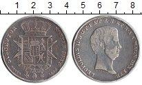 Изображение Монеты Италия Тоскана 1 франчсконе 1858 Серебро XF