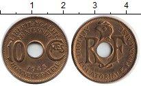 Изображение Монеты Французская Экваториальная Африка 10 сантим 1943  XF
