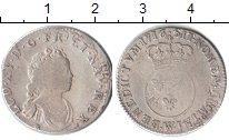 Изображение Монеты Европа Франция 1/10 экю 1716 Серебро VF