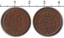 Изображение Монеты Ангола 50 сентаво 1961 Медь