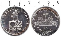 Изображение Монеты Северная Америка Гаити 25 гурдес 1973 Серебро Proof-