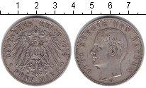 Изображение Монеты Бавария 5 марок 1903 Серебро XF Отто