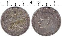 Изображение Монеты Бавария 5 марок 1908 Серебро XF