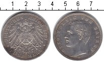 Изображение Монеты Бавария 5 марок 1907 Серебро XF