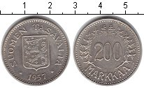 Изображение Монеты Финляндия 200 марок 1957 Серебро XF