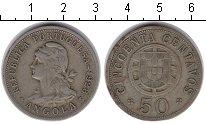Изображение Монеты Ангола 50 сентаво 1928 Медно-никель  Колония Португалии.