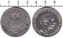 Изображение Монеты Германия Пруссия 3 марки 1912 Серебро XF