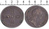 Изображение Монеты Великобритания 1 крона 1696 Серебро