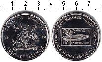 Изображение Монеты Уганда 1000 шиллингов 1996 Медно-никель Proof- 100-летие олимпийско