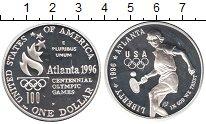 Изображение Монеты Северная Америка США 1 доллар 1996 Серебро Proof-