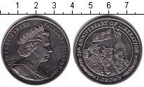 Изображение Монеты Великобритания Фолклендские острова 1 крона 2007 Медно-никель XF