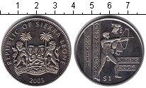 Изображение Монеты Сьерра-Леоне 1 доллар 2003 Медно-никель XF Олимпийские игры 200
