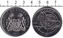 Изображение Монеты Сьерра-Леоне 1 доллар 2012 Медно-никель XF Олимпийские игры 201