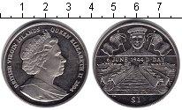 Изображение Монеты Северная Америка Виргинские острова 1 доллар 2004 Медно-никель UNC-