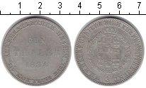 Изображение Монеты Гессен 1 талер 1834 Серебро VF