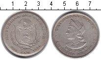 Изображение Монеты Северная Америка Сальвадор 1 песо 1894 Серебро VF
