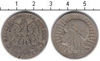 Изображение Монеты Польша 5 злотых 1934 Серебро VF