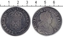 Изображение Монеты Европа Франция 1/2 экю 1662 Серебро VF