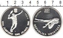 Изображение Монеты Европа Хорватия 200 кун 1996 Серебро Proof-