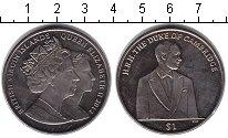 Изображение Монеты Виргинские острова 1 доллар 2012 Медно-никель XF Кембридж