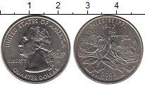 Изображение Мелочь Северная Америка США 1/4 доллара 2002 Медно-никель UNC-
