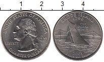 Изображение Мелочь США 1/4 доллара 2001 Медно-никель UNC-