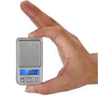"""Изображение Аксессуары для монет Весы Карманные мини-весы """"Mini Scale"""", точность 0,01г 0"""
