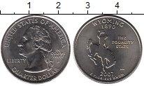 Изображение Мелочь Северная Америка США 1/4 доллара 2007 Медно-никель UNC-