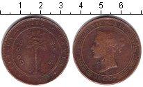 Изображение Монеты Цейлон 5 центов 1890 Медь