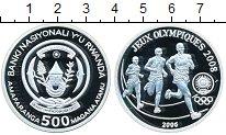 Изображение Монеты Руанда 500 франков 2006 Серебро Proof-