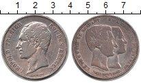 Изображение Монеты Бельгия 5 франков 1855 Серебро VF